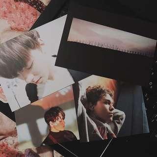 [wts] seventeen director cut vernon postcard set