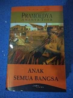 Novel Anak semua bangsa karya Pramoedya Ananta Toer
