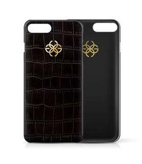 Golden Concept IPhone 8 Plus Black Croco