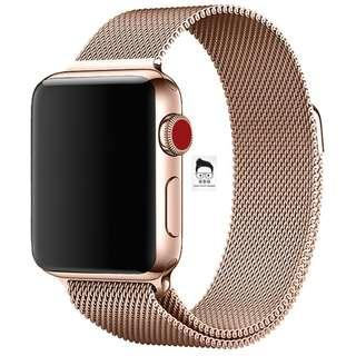 Milanese Loop Stainless Steel Strap for Apple Watch 38mm