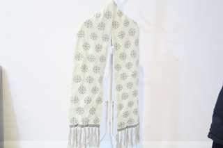 Yishion branded snowflakes Scarf #single1111