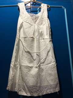 F&X White Lace Dress