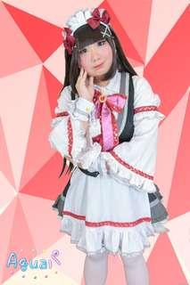 Love Live Sunshine Aqours Shop Welcome to Ikebukuro Maid Kurosawa Dia cosplay