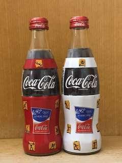 Athens 2004 Coca Cola bottles