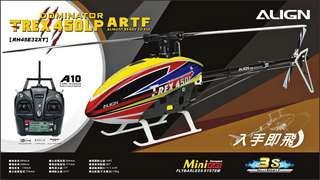 雙11 遙控直升機 6動 亞拓 align RH45E32XW T-REX 450LP ARTF (AC)
