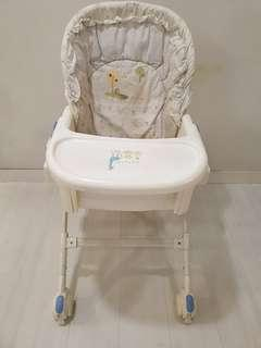 Baby recliner chair
