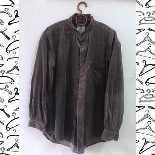 Corduroy BF Shirt