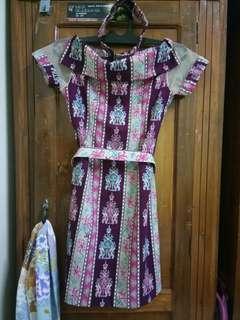 Dress Batik Kalteng (Flash Sale)