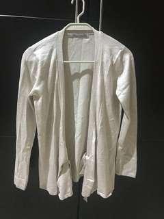 Zara white cardigan