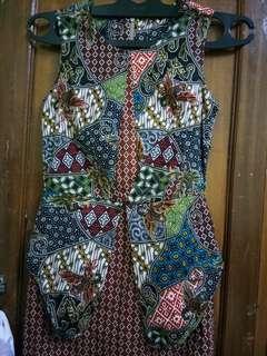 Dress batik (Sale)