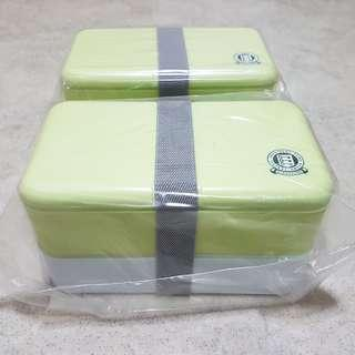$10 each. Lunch box Microwaveable with chopstick and spoon inside brand new sale !