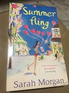 Novel..SUMMER FLING   By Sarah Morgan