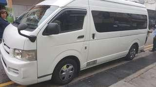 13 seater bus for chartered