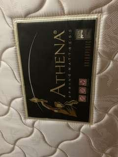Athena Max Coil Mattress Medium Firm - New