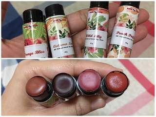 All Natural Tinted Lip Balm 10g.