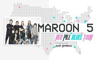 Maroon 5 Red Pill Blues Tour (Melbourne)