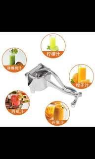 Juice extract lime orange