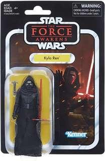 "Star Wars Kylo Ren Black Series Vintage Collection VC Figure Starwars SW Action Figures 3.75"" 3 3/4-inch Hasbro Kenner TRU"
