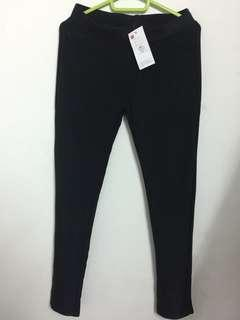 Black Solid tight jegging