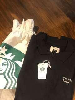 STARBUCKS POLO SHIRT. LIMITED EDITION.