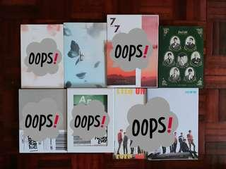 [11.11 SALE] KPOP ALBUM COLLECTION