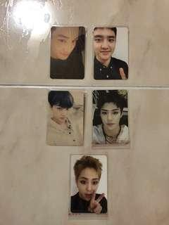 WTT EXO Ex'act / Lotto / For Life Photocard