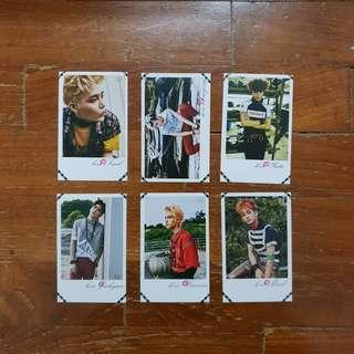 [UNOFFICIAL] NCT 127 Firetruck Lomo Cards