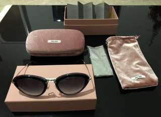 100% Authentic MIU MIU Lady Sunglasses, Almost Brand New