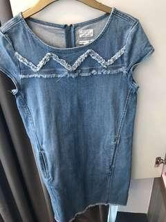 Denim Esprít dress