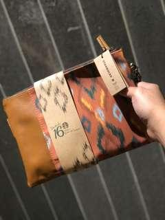 POUCH IKAT STARBUCKS. Limited edition.