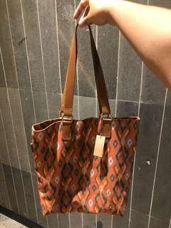 TOTE BAG IKAT STARBUCKS LIMITED EDITION