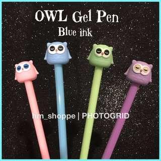 <READY STOCK> Cute Owl Gel Pen 🦉#SBUX50 #EVERYTHING18 #SINGLES1111