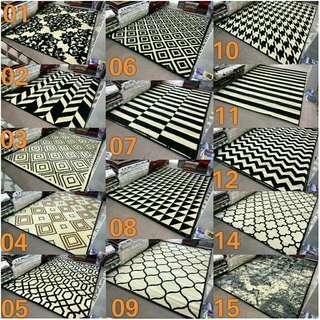 Karpet skyrugs monochrome Ukuran 160x210