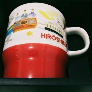 Starbucks Mug Hiroshima Japan Geography Series