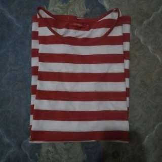 Baju stripes red