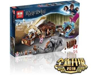 In Stock* Lepin 16059 Newt´s Case of Magical Creatures