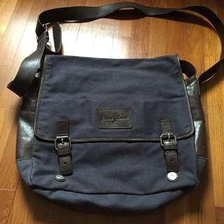 Cole Haan canvas sling bag