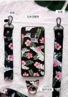 iPhone X casing and lanyard