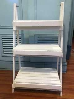 3- layer collapsible rack (fixed price) pls read description