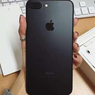 Iphone 7Plus Matte black 256GB