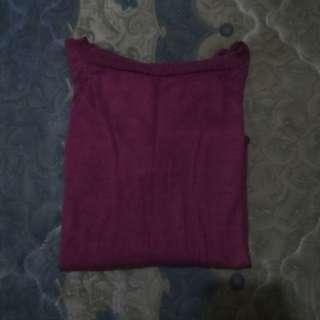 Sweater knit crop