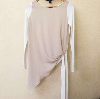 Authentic Zara Blouse Asymmetrical
