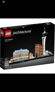 *In Stock* Lego Architecture Las Vegas City Skyline 21047