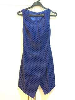 MPG Label Asymmetrical Work Dress