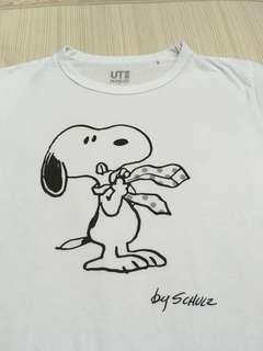 Women's Snoopy Character Short Sleeve Graphic Tee(UT Collection) #single11