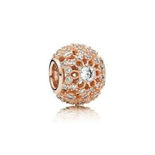 Rose™ Inner Radiance Charm Clear CZ 781370CZ