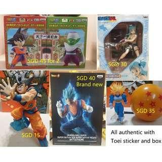 Dragonball  Goku, Piccolo, Trunks, Bulma, SSGSS Vegetto