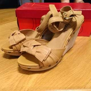 Jipi Japa 100% New船踭涼鞋Wedge Sandals