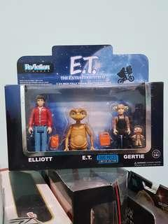 Reaction Figures - E.T