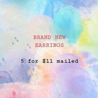 GRAB BAG EARRINGS